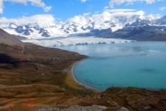 Nordenskjöld glacier by Geoff Ball
