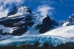 Bore mountains and Glacier. 1974